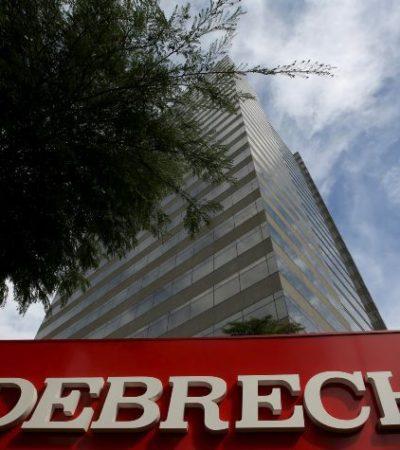 Gobierno mexicano prohíbe a todas sus dependencias oficiales celebrar contratos con la brasileña Odebrecht