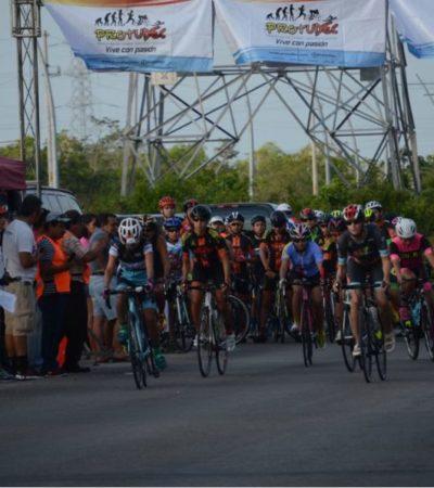Se valora desempeño de 10 ciclistas para conformar la selección de Quintana Roo