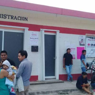 200 credenciales de elector esperan a sus dueños en el módulo del INE en Tulum