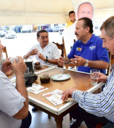 Julián Ricalde gestionará recursos para eregir el Centro de Abasto que requiere Chetumal