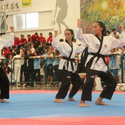 Taekwondoíes y tenistas de mesa consiguen para QR 22 lugares en Olimpiada Nacional