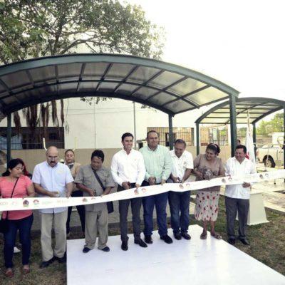 Entrega Ayuntamiento de BJ 15 gimnasios en un solo día con inversión de 10 mdp