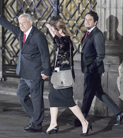 López Obrador presume que después del debate creció la intención del voto a su favor