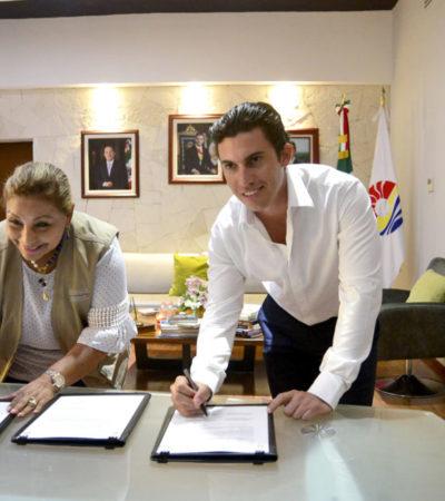 Ayuntamiento de BJ firma convenio con la Sedesol para integrar un padrón único de personas beneficiadas con los programas de desarrollo social
