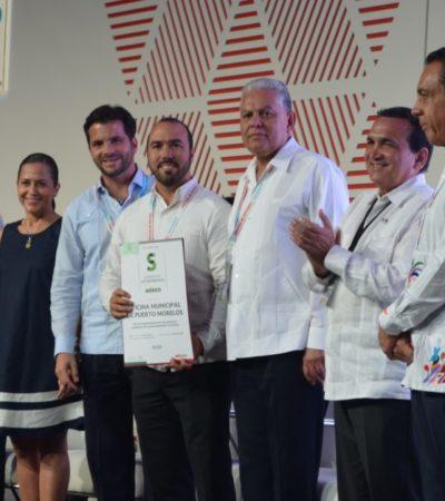 Premia Sectur al Palacio Municipal de Puerto Morelos por tener prácticas de sustentabilidad únicas a nivel nacional