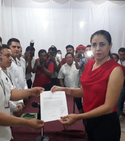 Rossana Romero se registra por el PRI; incluye a hermano de rival en planilla