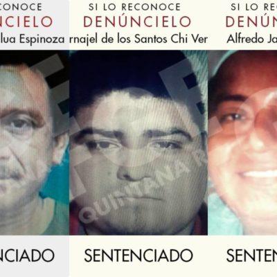Sentencian a 60 años de cárcel a tres secuestradores e imponen multas de 365 mil 200 pesos para cada uno de ellos