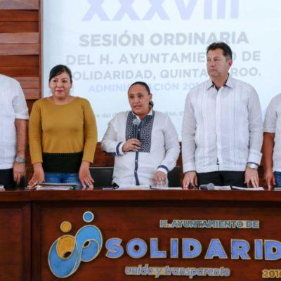 Aprueba Cabildo de Solidaridad concesiones, subsidios y reglamentos