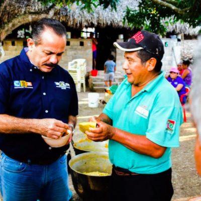 Plantea Julián Ricalde en FCP gestionar mayores recursos para programas de desarrollo para el pueblo maya