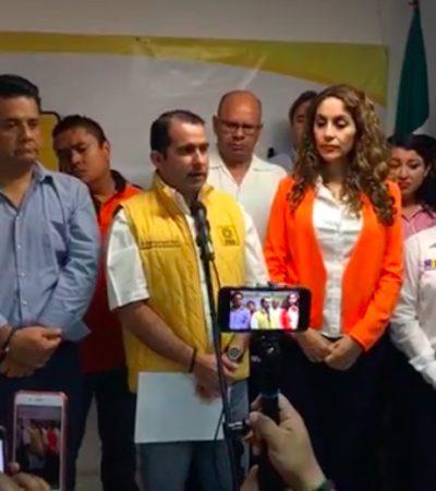 QUITARÁN CANDIDATURA A 'CHANITO' EN CANCÚN: Anticipa PRD que el Ieqroo negará registró a Toledo Medina para la presidencia municipal en Benito Juárez