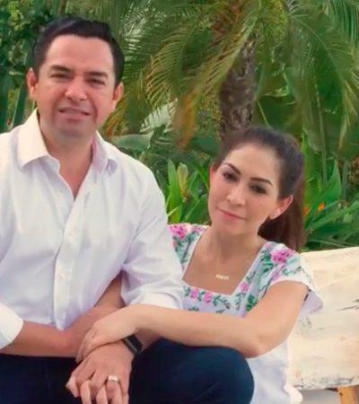 """""""NO NOS DETENDRÁN"""": Tras ser rechazada su candidatura, 'Chanito' Toledo desafía al Ieqroo con gira nocturna en Cancún; """"esto apenas comienza"""", dice"""