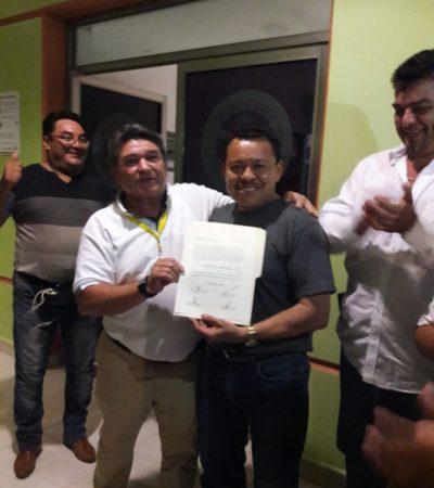Gana Rubén Aguilar elección del sindicato de taxistas de Playa
