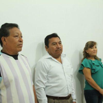 Laura Chi Alonso, William Tolosa y Luis Armando Uicab May tomaron protesta como regidores suplentes en JMM