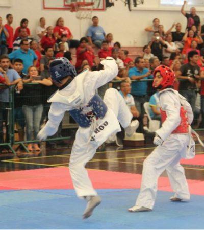Logran taekwondoínes de QR tercer lugar en medallero regional