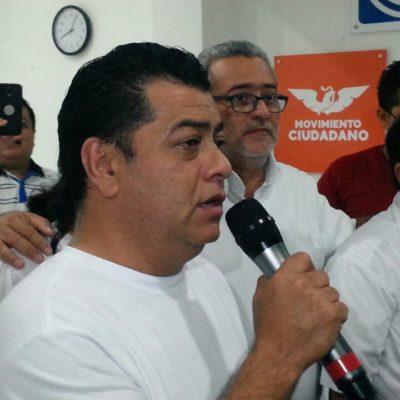 Se registra Julio 'Taquito' ante el Ieqroo como candidato independiente en Othón P. Blanco
