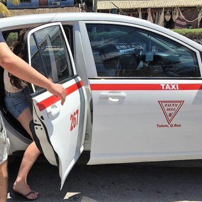 Acusan a taxistas de Tulum de discriminar a locales