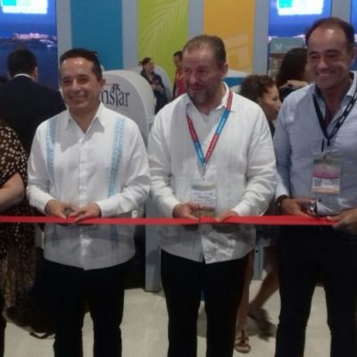 TIANGUIS EN MAZATLÁN: Éxito de marcas de Quintana Roo garantizan turismo, asegura Carlos Joaquín
