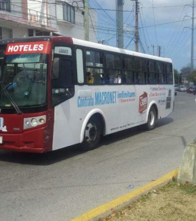 Remberto Estrada promete que su gobierno aplicará varias acciones para mejorar la movilidad en Cancún