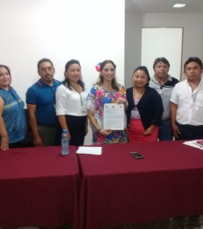 'Triny' García, inscrita como candidata para Lázaro Cárdenas