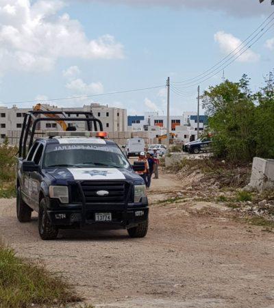 Aparece cuerpo putrefacto en el fraccionamiento Arcos Paraíso de Cancún