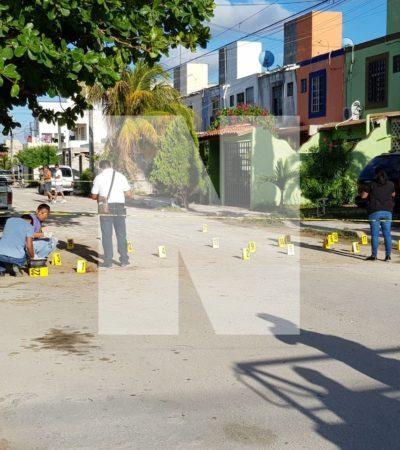 INTENTAN EJECUTAR A DOS JÓVENES EN CANCÚN: Lluvia de balas en la Región 521 con saldo preliminar de dos heridos