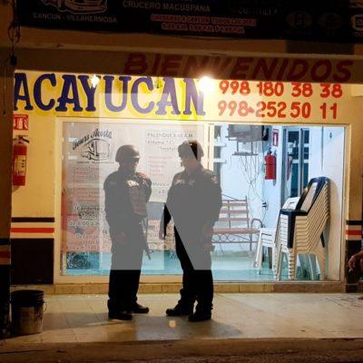 """""""YA TE LLEVÓ…"""": Balean a un trabajador de transportadora turística en la SM 66 de Cancún"""