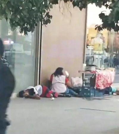 BALAZOS EN 'EL CRUCERO' DE CANCÚN: Tres muertos tras ataque a unos metros de caseta de Seguridad Pública; suman 102 ejecuciones en lo que va del 2018