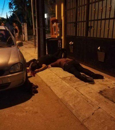 AMANECE CANCÚN CON MÁS EJECUTADOS: Matan a balazos a 2 jóvenes en la Región 223; suman 11 casos en 24 horas y ya van 109 asesinatos en el 'paraíso' en 2018