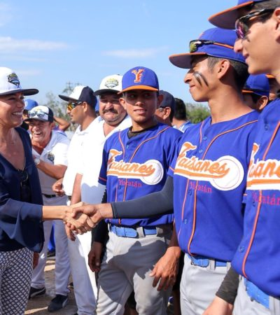 Playa del Carmen, sede regional del torneo Big League Williamsport