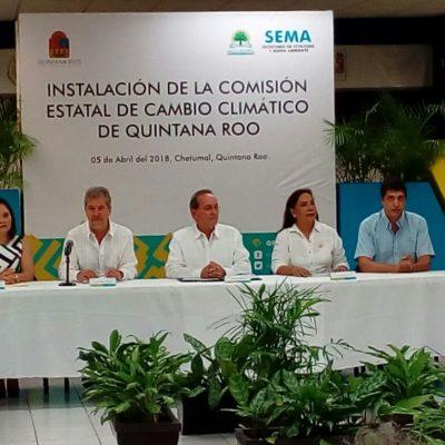 Califican de 'simulación', instalación de la Comisión Estatal de Cambio Climático de Quintana Roo