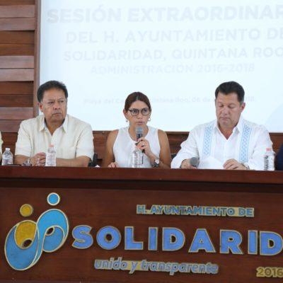 Aprueba Solidaridad reformas para rendición de cuentas promovidas por el estado