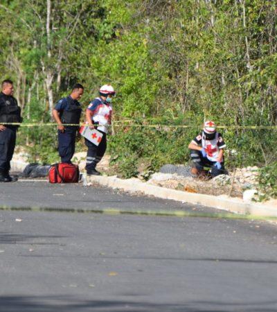 EJECUTAN A MUJER EN LA REGIÓN 248: Reportan hallazgo de cadáver baleado por el Arco Vial de Cancún