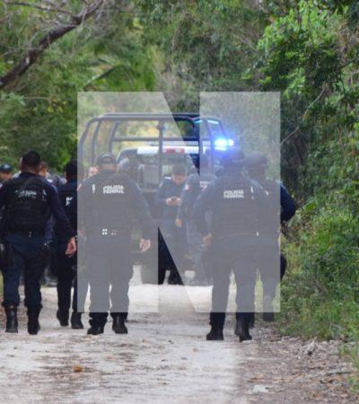 MUJER EJECUTADA EN BONFIL: Hallan cuerpo descuartizado en un área verde de la colonia Doctores en la zona sur de Cancún