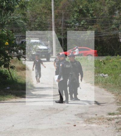 INTENTO DE EJECUCIÓN EN CANCÚN: Un estudiante y un chatarrero, heridos en la Región 209