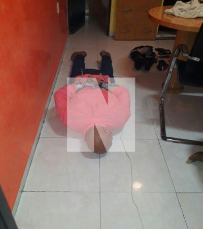ASALTO CON VIOLENCIA EN LA PORTILLO: Fuerte operativo por intento de atraco en empresa de mudanzas en la Región 94 de Cancún; capturan a dos