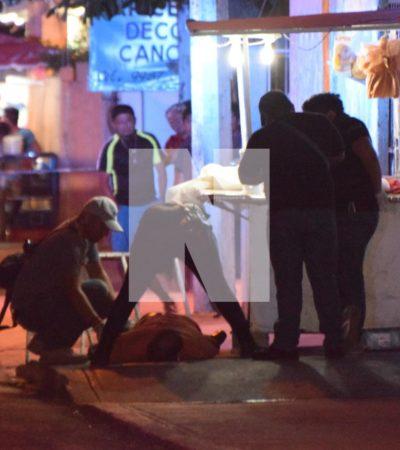 NOCHE DE SÁBADO VIOLENTA EN CANCÚN: Dos personas muertas y un agente de Tránsito golpeado, saldo de ataques, balazos y asaltos en el 'paraíso'