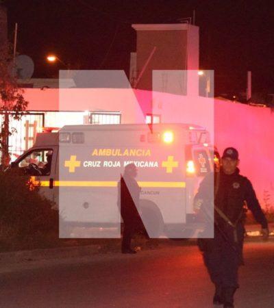 BALEAN A UNA MUJER EN CANCÚN: Ataque en una vivienda del fraccionamiento Paraíso Maya
