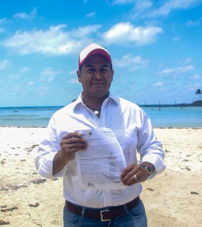 Pretende hotel construir bungalós en las inmediaciones de Playa Norte en Isla Mujeres; polémica deriva en bandera electoral