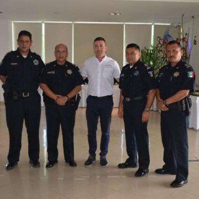 REUNIÓN EN TULUM: Elementos de la policía municipal y estatal realizarán recorridos en hoteles de la Riviera Maya para disminuir delitos