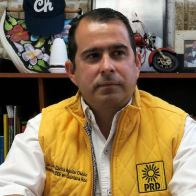 El Gobernador no dio línea contra 'Chanito' Toledo  en Cancún, dice el PRD; asegura que lo defenderán hasta las últimas consecuencias