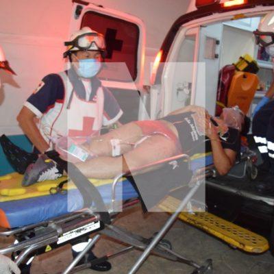 BALEAN A CUATRO PERSONAS EN PRADO NORTE: Tres hombres y una mujer quedan heridos en nuevo tiroteo, ahora en la Región 260 de Cancún