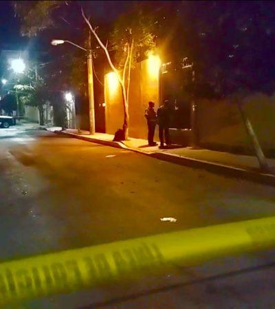 Disparan contra vivienda en la colonia Colosio de Playa del Carmen