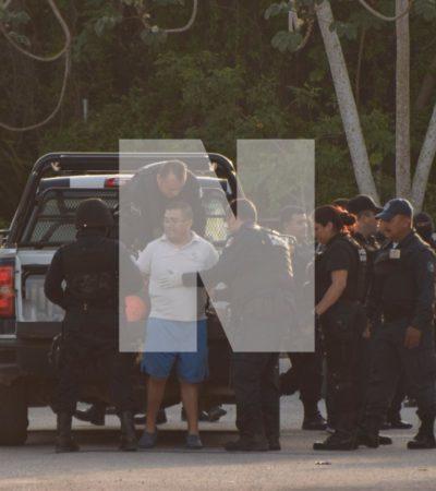 TIENE SU DÍA DE FURIA, DISPARA AL AIRE Y SE ATRINCHERA: Fuerte movilización en la Región 222 por un presunto policía federal que se puso violento