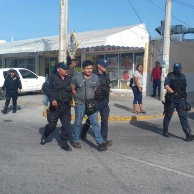 Realizan operativo en la conflictiva zona del 'Crucero' de Cancún