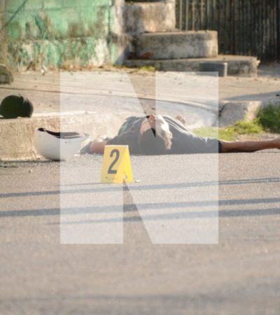 SIGUEN LAS EJECUCIONES EN CANCÚN: Matan a balazos a un joven en la Región 240, presunto familiar de elemento de Tránsito