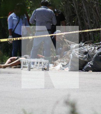 EJECUCIÓN RUMBO A PUNTA SAM: Hallan cadáver atado de pies y manos a 500 metros de los vestigios arqueológicos de El Meco