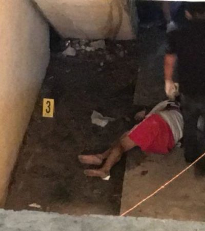CIERRA EL DOMINGO DE CANCÚN CON TRES EJECUTADO: Matan a balazos a una persona en Villas Otoch Paraíso