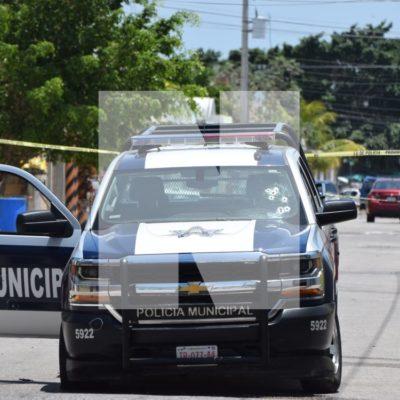 FUE ATAQUE ARMADO CONTRA POLICÍAS CANCÚN: En emboscada, rafaguean una patrulla en la Región 200 con saldo de un agente herido y dos presuntos delincuentes detenidos