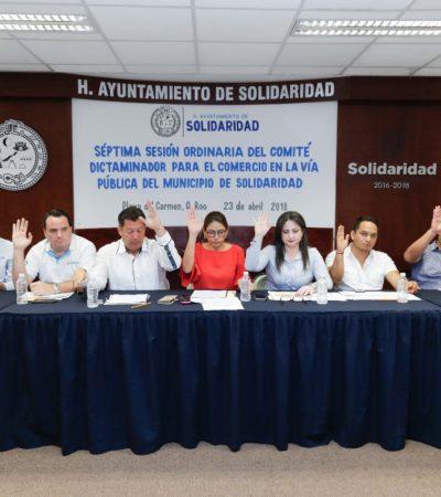 Continúa Solidaridad regularización del comercio en la vía pública