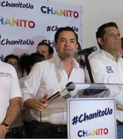 DEFIENDE 'CHANITO' CANDIDATURA POR CANCÚN: Asegura Toledo Medina que ya subsanó observaciones ante el Ieqroo y cumple con todos los requisitos para su registro